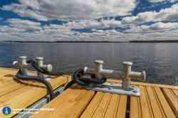 Новая пристань для пассажирских кораблей на Валдайском озере