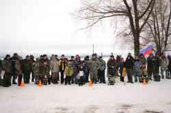 Районные соревнования по подледному лову рыбы