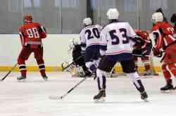 Финал открытого кубка Валдайского района по хоккею