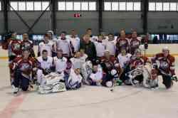Хоккейный матч «Газовик» — «Штурм»
