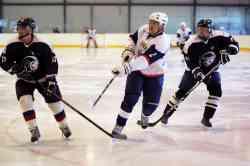 Хоккейный матч «ФСО» — «Белые волки», 1-я игра финала