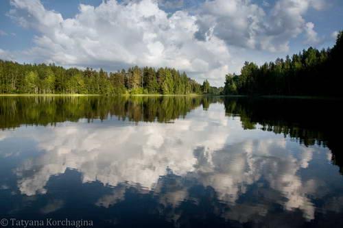 фото озеро валдай