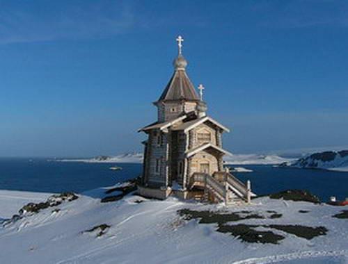Image result for храм сергия радонежского в антарктиде