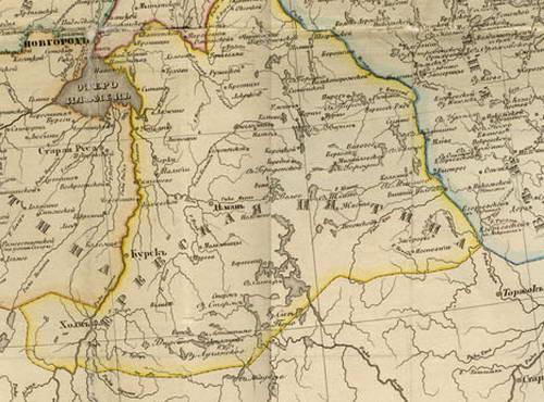 Валдай / сайт города валдай / заселение валдайского уезда.