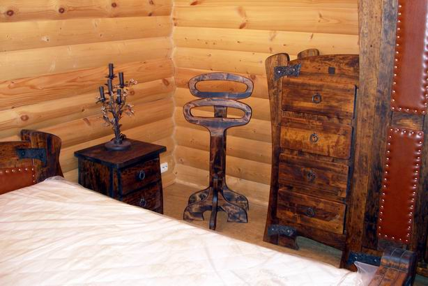 Изготовление авторской эксклюзивной мебели из дерева - фотографии.